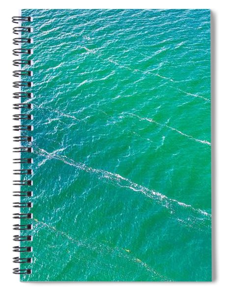 Clear Water Imagery  Spiral Notebook