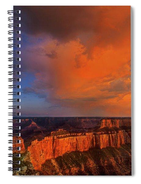 Clearing Storm Cape Royal North Rim Grand Canyon Np Arizona Spiral Notebook