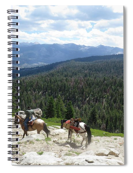 Clearing Trails Spiral Notebook