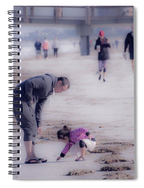 Clearwater Beachcombing Spiral Notebook