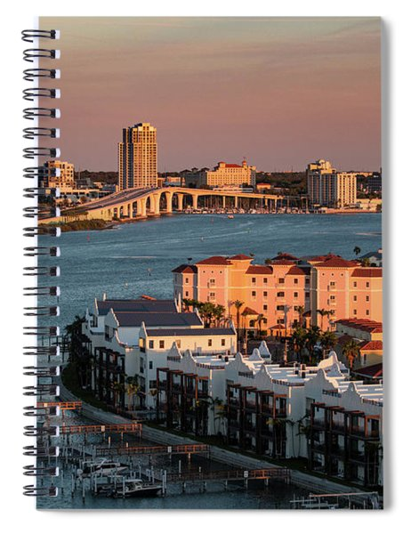 Clearwater Evening Spiral Notebook