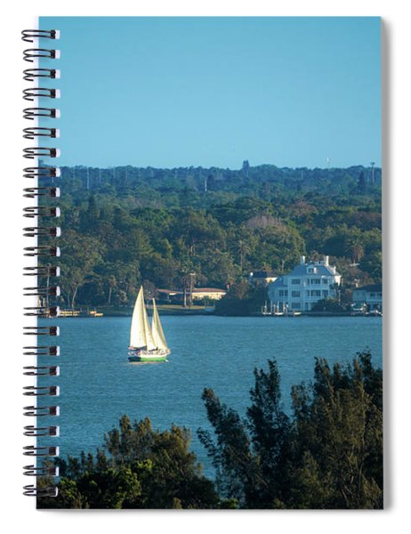 Clearwater Sails Spiral Notebook