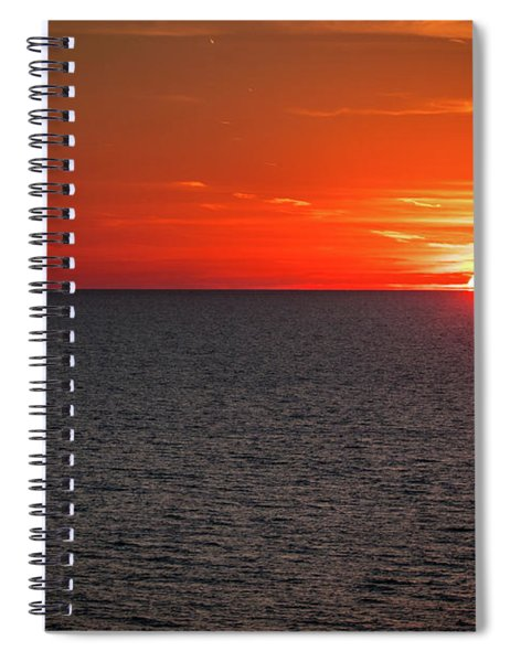 Clearwater Sunset Spiral Notebook