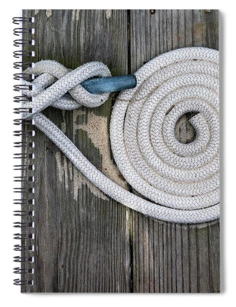 Cleat And Line Spiral Notebook