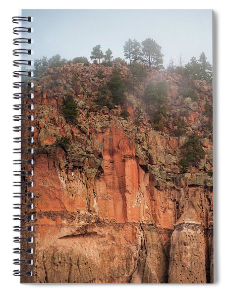 Cliff Face Hz Spiral Notebook