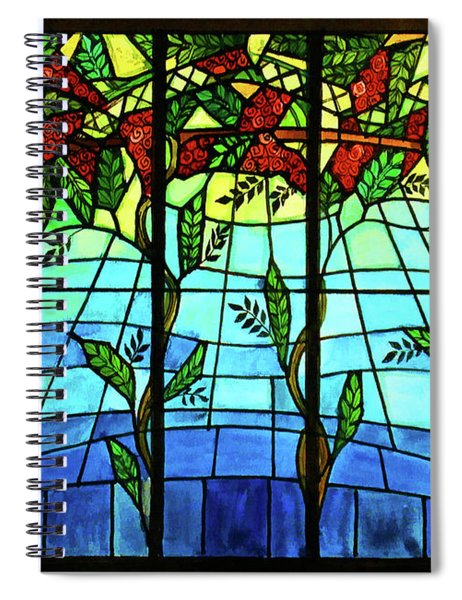 Climbing Vines Spiral Notebook