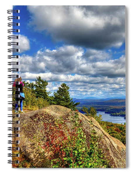 Close To Heaven On Earth Spiral Notebook