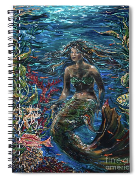 Close To The Surface Spiral Notebook