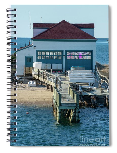 Closed For The Winter Spiral Notebook