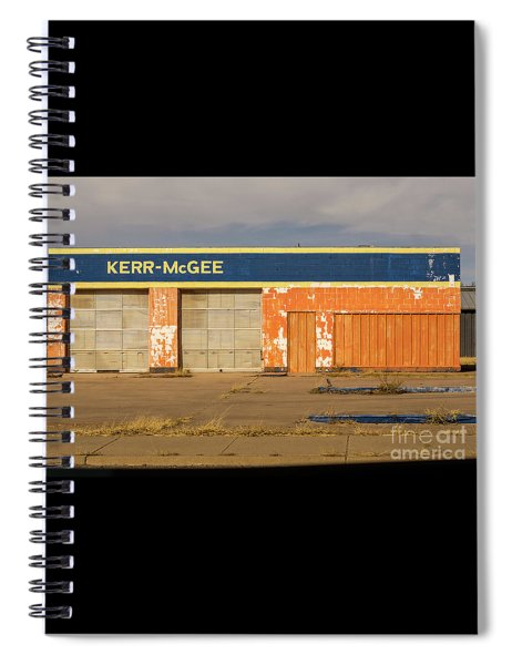 Closed Kerr - Mcgee Station Spiral Notebook