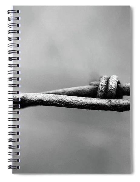 Closing In Spiral Notebook