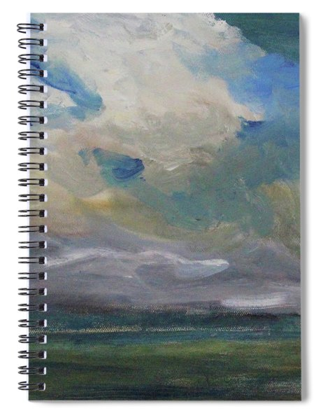 Cloud Drifting Spiral Notebook