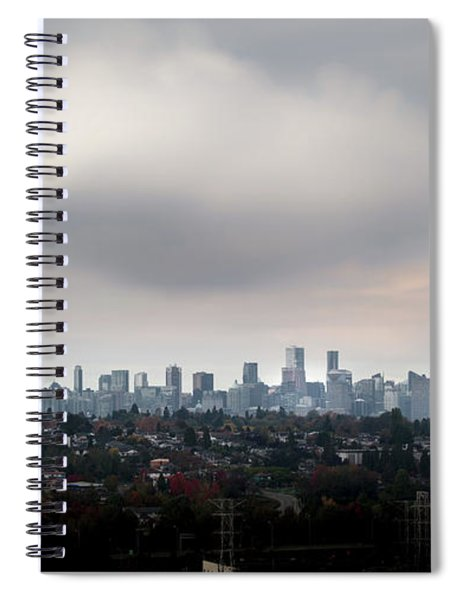 Cloud On Vancouver  Spiral Notebook