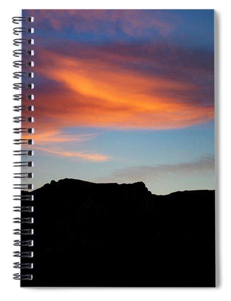 Cloud Over Mt. Boney Spiral Notebook