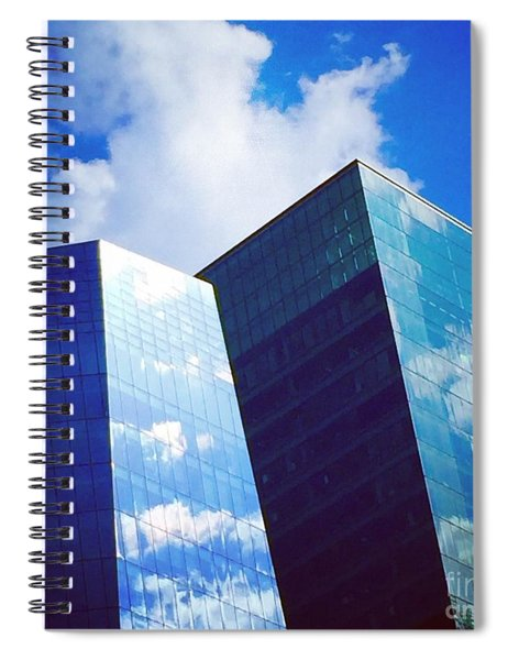 Cloud Relection Spiral Notebook