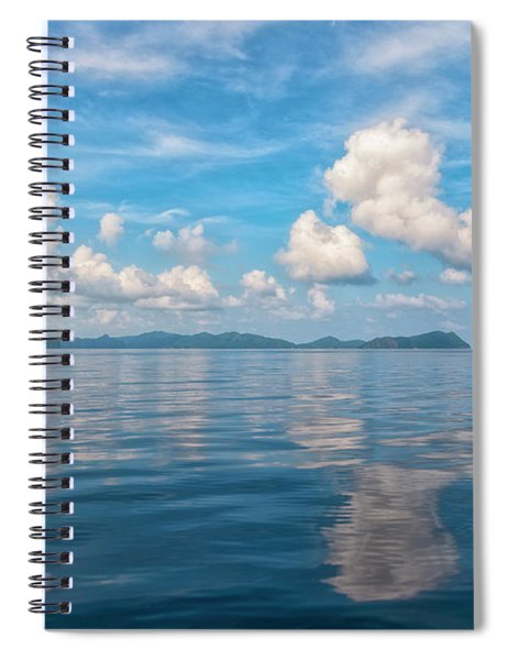Clouded Bliss Spiral Notebook