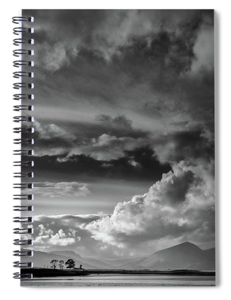 Clouds Over Loch Laich Spiral Notebook