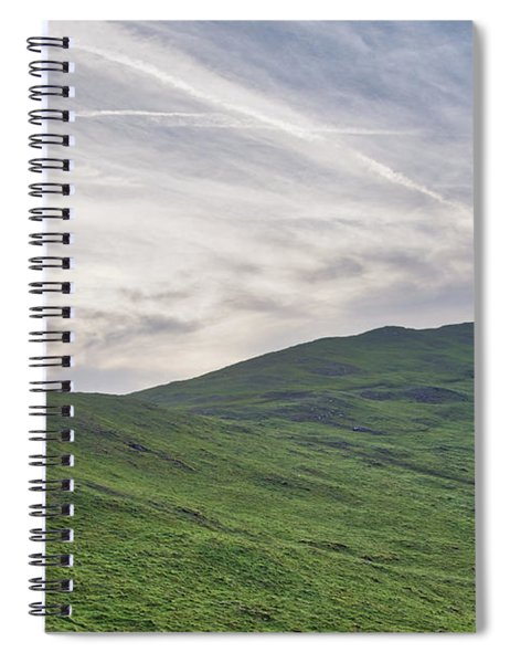 Clouds Over Thorpe Cloud Spiral Notebook