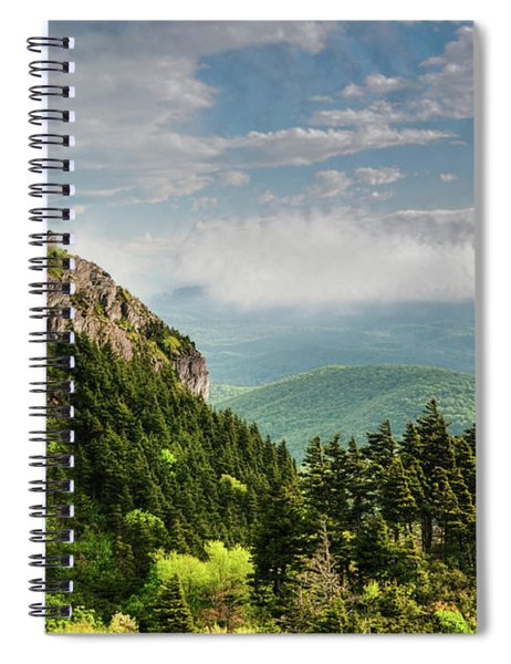 Clouds Rolling Spiral Notebook
