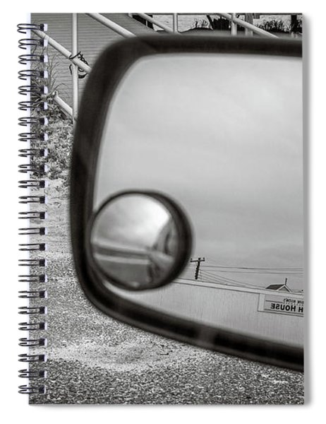 Cloudy Day Reflection Spiral Notebook