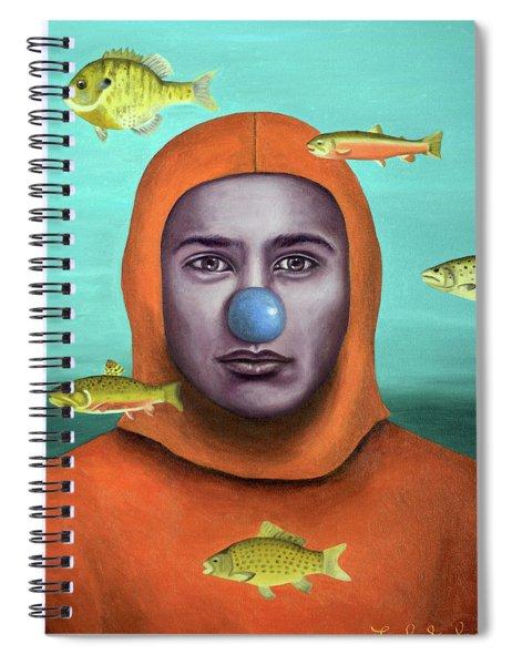 Clown School Spiral Notebook