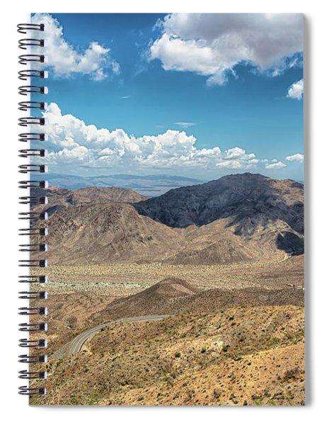 Coachella Valley Vista Point Spiral Notebook by Alison Frank