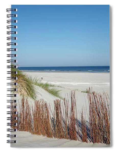 Spiral Notebook featuring the photograph Coast Ameland by Anjo Ten Kate
