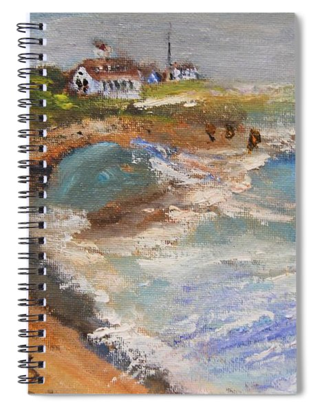 Coast Gurd Beach Spiral Notebook