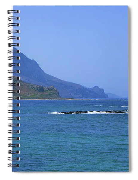 Coast Of Gramvousa Spiral Notebook