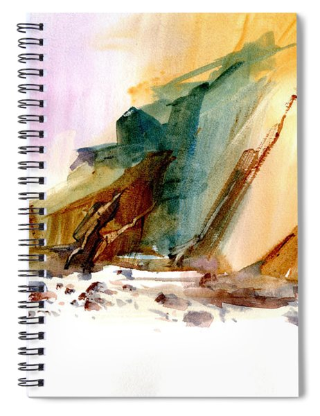 Coastal Cliffs Spiral Notebook