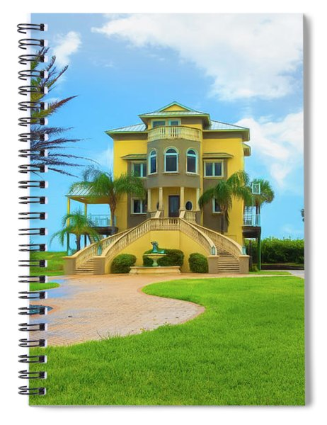 Coastal Living Spiral Notebook