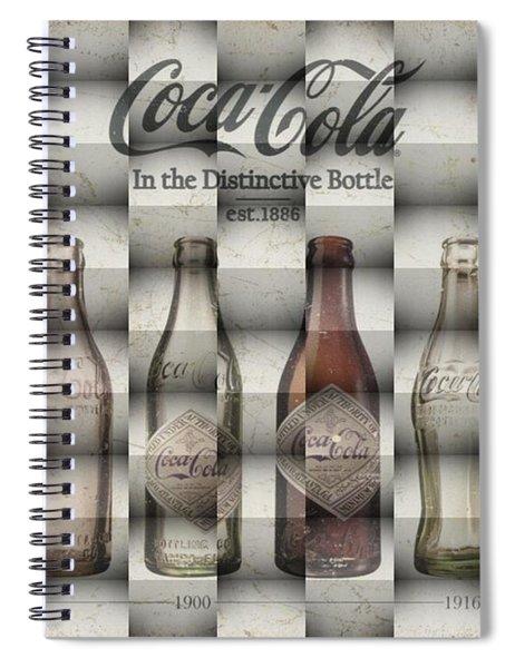 Coca Cola 3d Spiral Notebook