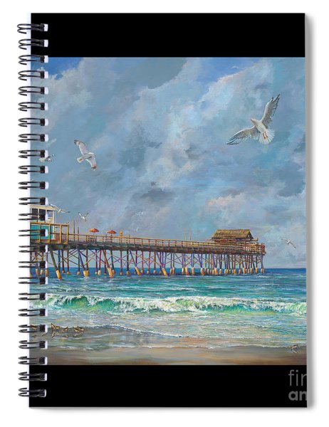 Cocoa Beach Pier Spiral Notebook