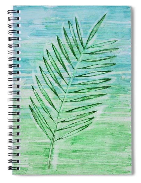 Coconut Leaf Spiral Notebook