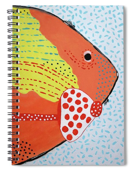 Sal Mons Big Night Out Spiral Notebook