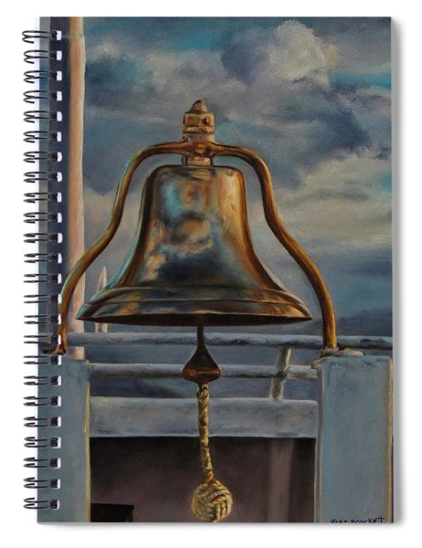 Coho Ferry's Bell Spiral Notebook