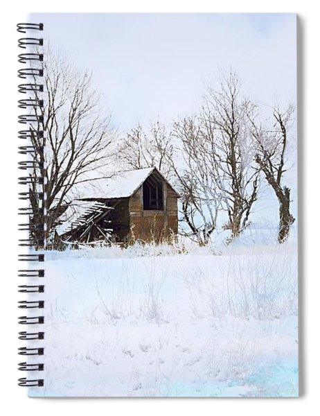 Cold And Lonely Spiral Notebook