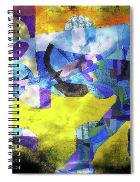 Cold Evening Wind Spiral Notebook