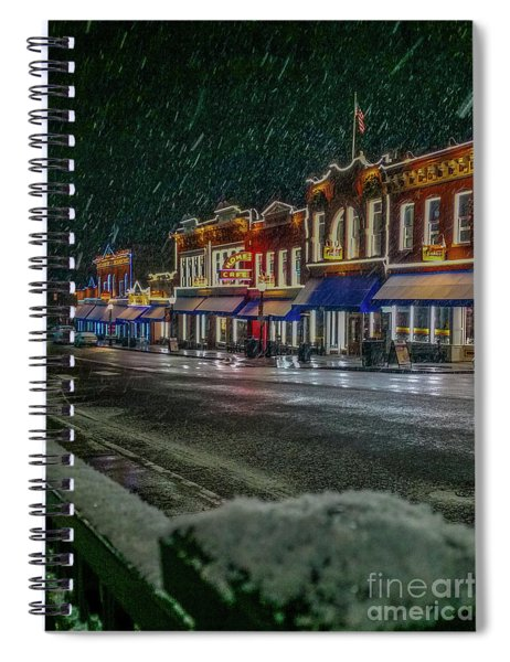 Cold Night In Cripple Creek Spiral Notebook