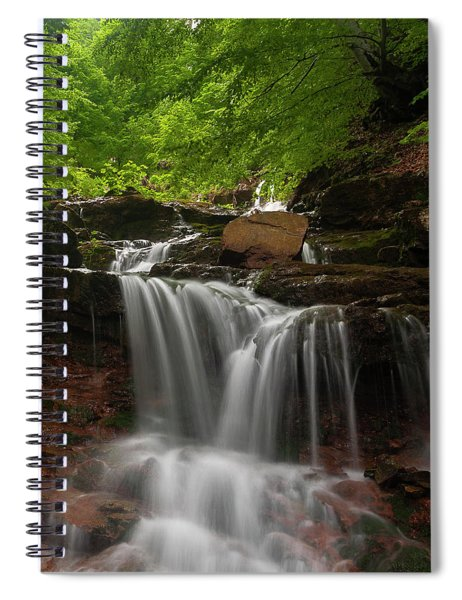 Cold River Spiral Notebook