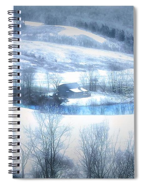 Cold Valley Spiral Notebook