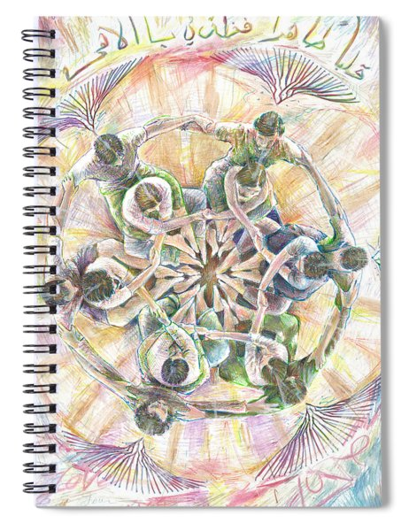 Collaborate Spiral Notebook