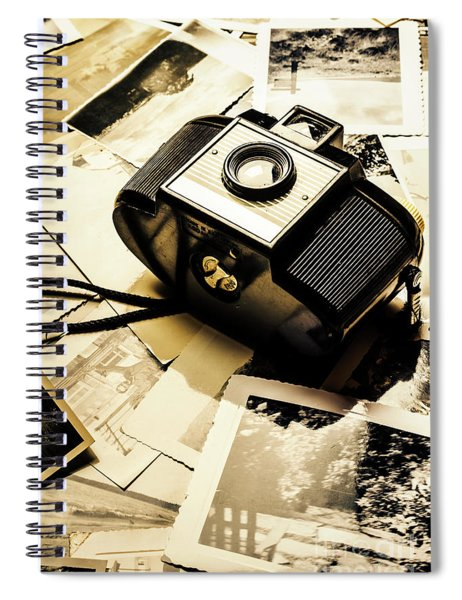 Collecting Scenes Spiral Notebook