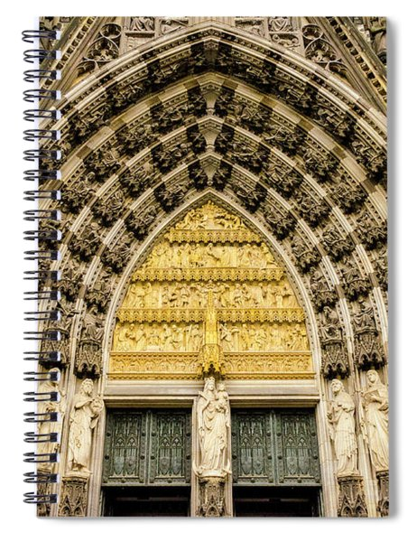 Cologne Cathedral Spiral Notebook