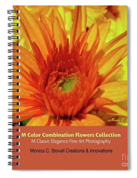 Color Combination Flowers Collection Spiral Notebook