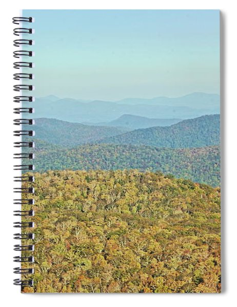 Color Me Autumn Spiral Notebook