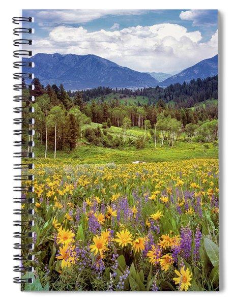 Color Of Spring Spiral Notebook