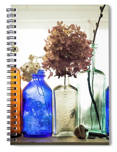 Color Window Sill Spiral Notebook