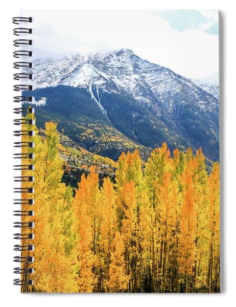 Colorado Aspens And Mountains 2 Spiral Notebook