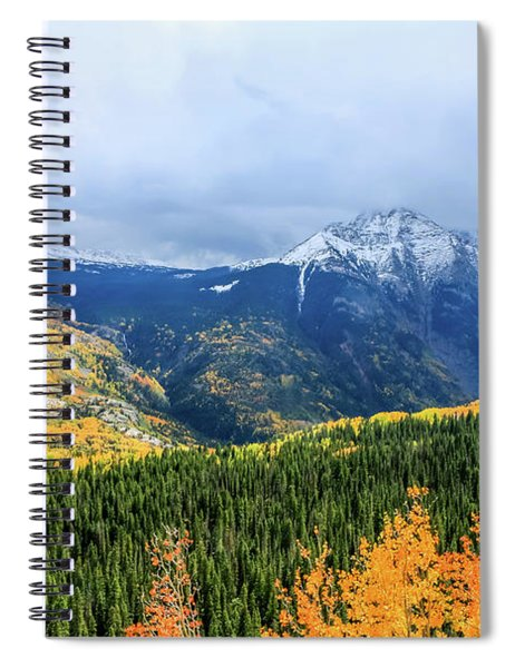 Colorado Aspens And Mountains 3 Spiral Notebook